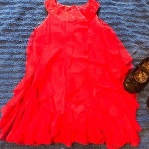 Other - Red dress 4t